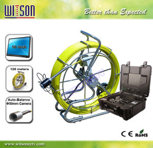 Witson Waterproof Pipe Inspecting Camera with Sonde, Transmitter with up to 120m Cable pictures & photos