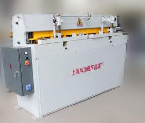 Qhd11 3 X 1500mm Truecut-Mechanical/Manual/Metal Shearing Machine pictures & photos