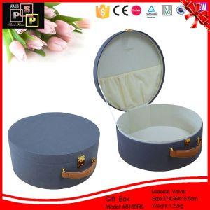 Round Wedding Case Custom Hat Box (8252) pictures & photos