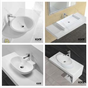 China Modern Acrylic Resin Stone Bathroom Sink Wash Basin pictures & photos