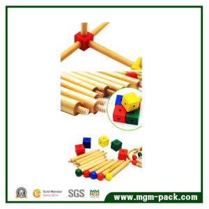 Professional Children Throwing Circle Wooden Educational Toys pictures & photos