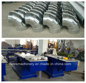 Fe1200 Elbow Duct Making Machine for Air Duct pictures & photos