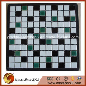 Hot Sale Swimming Pool Crystallized Glass Mosaic Tile pictures & photos