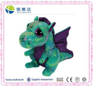Green Dragon Big Eye Plush Toys for Kids pictures & photos