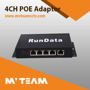 4CH Poe Switch for IP Camera Video Transmitting (MVT-E04) pictures & photos