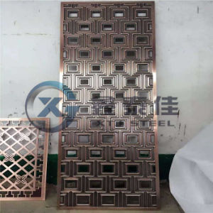 Metal Decorative Luxury Club/Villa Partition Made in China pictures & photos