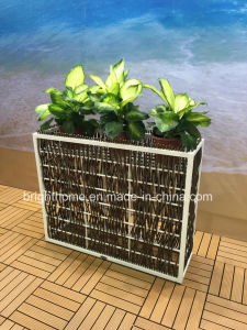 Woven Rattan Style Flower Pot pictures & photos