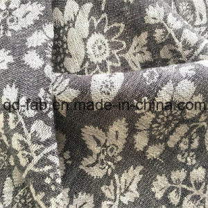 100%Linen Jacquard Yarn-Dyed Fabric (QF16-2480) pictures & photos