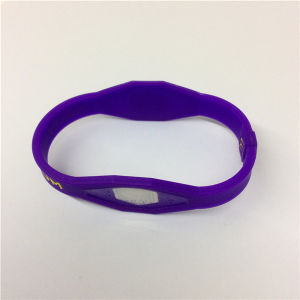 2016 Top Quality Popular Printed Silicone Bracelet Wristband pictures & photos