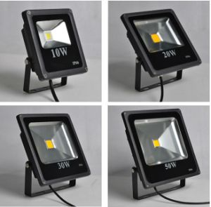 20W Warm White High Power LED Flood Wash Light Lamp Outdoor Waterproof 110-220V (Color: White) pictures & photos