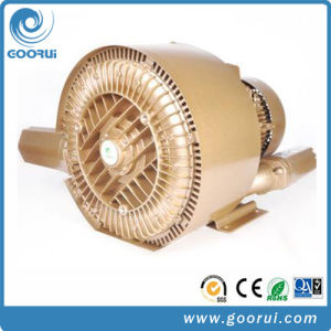 Double Stage 2.2kw Low Vibration Side Channel Air Blower pictures & photos