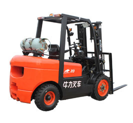 Gasoline/ LPG Double Use Forklift pictures & photos