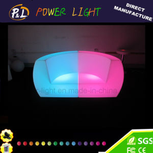 Party LED Furniture/Illuminated Bar Sofa LED Plastic Sofa pictures & photos