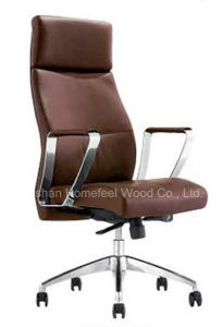 Modern Swivel Executive Genuine Leather Office Chair (HF-A1527) pictures & photos