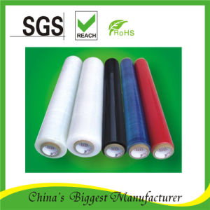 5-Layer One Side Sticky Cast Clear Stretch Wrap Film pictures & photos