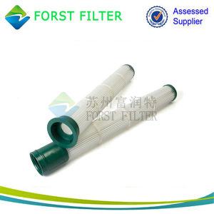 Forst Pleated Polyester Cylindrical Air Filter Cartridge Manufacturer pictures & photos