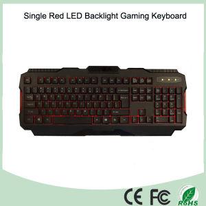 Computer Gaming Peripheral 104 Keys Red Backlight Keyboard Gaming (KB-1901EL) pictures & photos