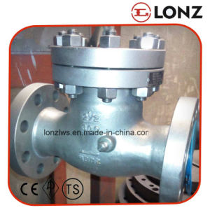 ANSI Bolted Bonnet Stainless Steel Flanged Swing Check Valve pictures & photos