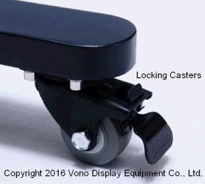"""Exhibition Display Stand Trade Show Products 17"""" to 65′ Plasma or LCD Television Stand pictures & photos"""