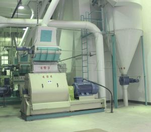 Wide Capacity Chicken Feed Pelletizer/Poultry Feed Pellet Line Price pictures & photos