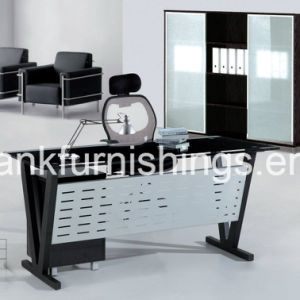 Elegant Design Glass Top Office Table
