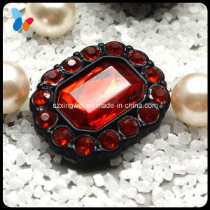 Red Diamond Plastic Shank Button for Fashion Show pictures & photos