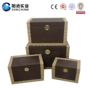 Scst00018 Set 4 PU Leather Storage Box Set (SCST00018)