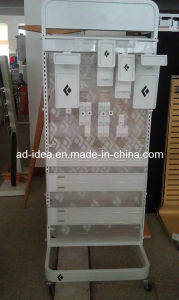 Retail Store Wire Metal Flooring Double Side Display Racks pictures & photos