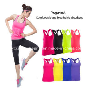 High Quality Custom Fitness Running Jogging Gym Singlets Tank Top pictures & photos