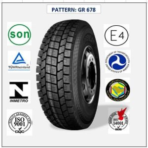 All Steel Radial Truck & Bus Tires with ECE Certificate 225/70r19.5 (GR612 GR678) pictures & photos