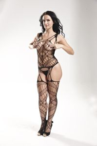 Sexy Fishnet Lingerie Bodystocking with Hollow out Design pictures & photos