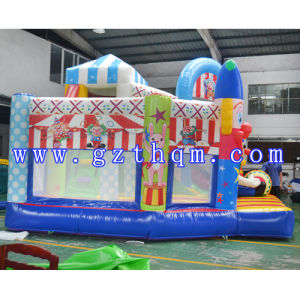 The Clown Inflatable Bouncer/Children′s Park Bouncer pictures & photos