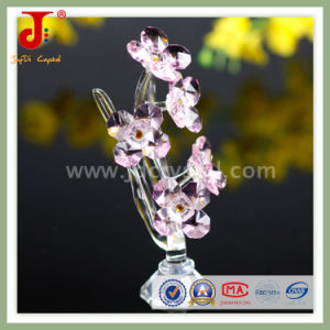 Pink Small Crystal Flower for Sweet Home Decoration (JD-CF-305) pictures & photos