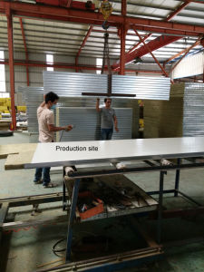 Fireproof Building Material Rock Wool Sandwich Panels pictures & photos
