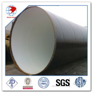 711*6.35mm Bell End of SSAW Weld Steel Pipe for Water Power Station Building Project pictures & photos