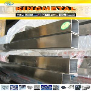 ASTM A554 Polished Stainless Decorative 304 Square Tube pictures & photos