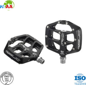High Quality Factory Price Black Color Aluminum CNC Machined Bicycle Pedals pictures & photos