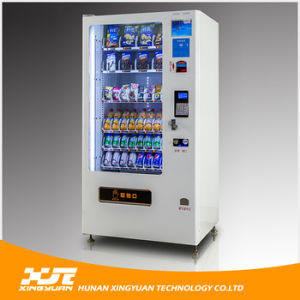 Medium Size Snacks and Drinks Combo Vending Machine pictures & photos
