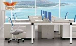 New Design Modern 6 Person Seats Office Workstation Desk (H50-0202) pictures & photos