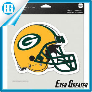 Packers Full Color Helmet Logo Car Window Sticker pictures & photos