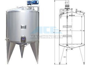 Insulation Tank, Ss Storage Tank for Milk/Juice Holiding Tank (ACE-BWG-NQ2) pictures & photos