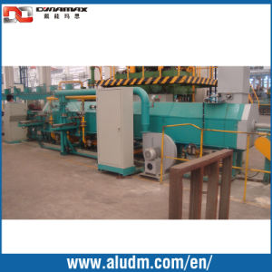 Aluminum Extrusion Machine Accurate Shearing Single Log Heating Furnace in Competive Price pictures & photos