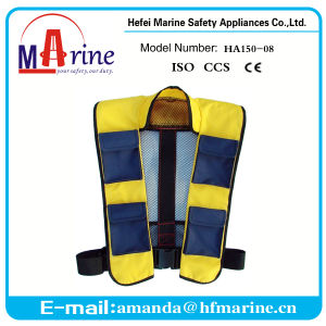 Fast Supplier 150n Automatic Save Fishing Vest pictures & photos