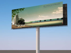 Outdoor Hanging Poster for Advertising pictures & photos