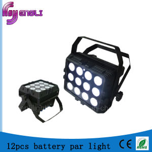 12PCS*15W Battery LED PAR Light for Disco (HL-037) pictures & photos
