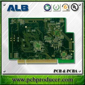 Electroless Ni/Au, (ENIG) , Electrolytic Ni/Au Multilayer Sided Printed Circuit Board