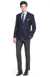 OEM Italian Latest Design Slim Fit Men′s Suits pictures & photos