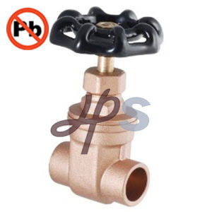 NSF-61 Forging Free Lead Brass Gate Valve with NPT Thread pictures & photos