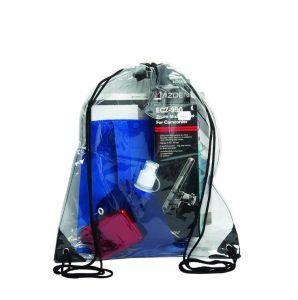 Custom Outdoor Kids Transparent PVC Clear Drawstring Bag pictures & photos