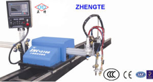 Economic CNC Plasma Cutting Machine with Ce Certificate Znc-2100 pictures & photos